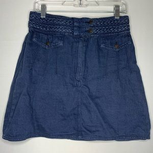 FREE PEOPLE Blue Skirt, SIZE 8.